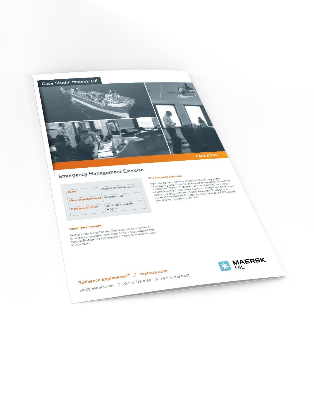 Maersk Emergency Management Exercise Case Study