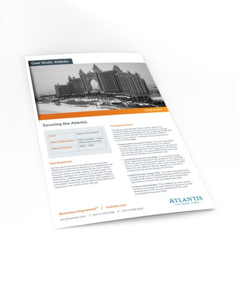 Threat and Risk Assessment for Atlantis the Palm